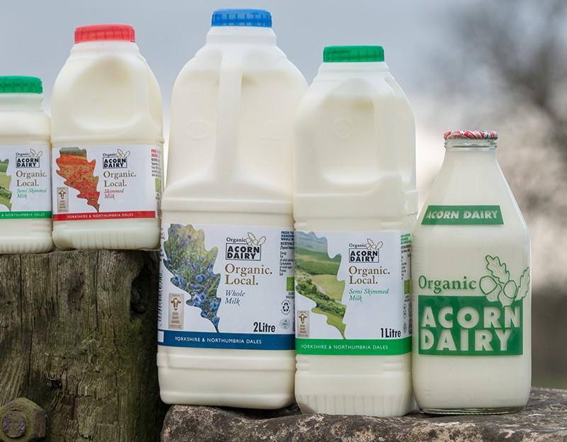 Acorn Dairy Home Fresh Organic Dairy Products Award